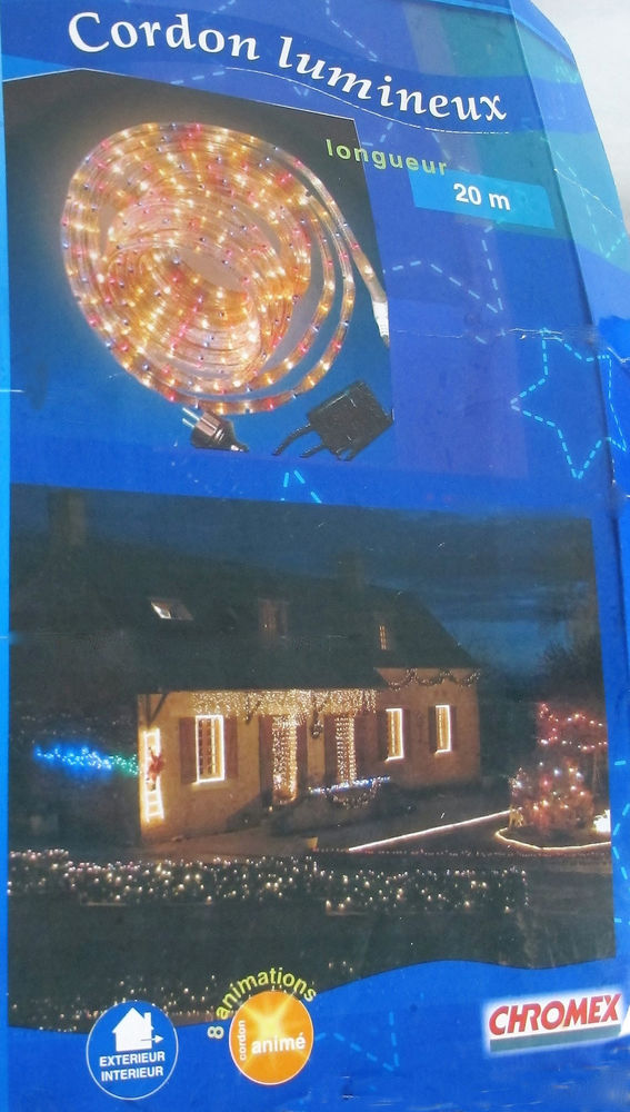Cordon lumineux décoration noël 15 Arbin (73)