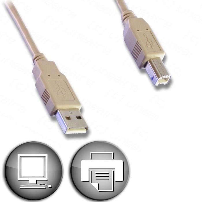 CORDON USB-AB moulé  3 Dammarie-les-Lys (77)