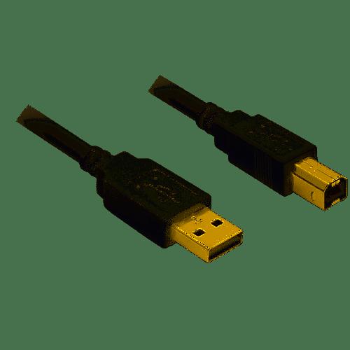 Cordon USB 2.0 A / B 3m 8 Milhaud (30)