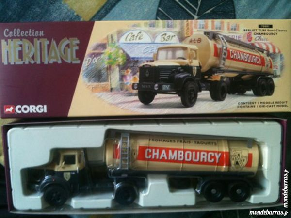 Corgi heritage tlr8 semi citerne chambourcy Jeux / jouets