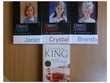 P.Cornwell, MH Clark, PC & Kristin  Cast, V.C. Andrews...