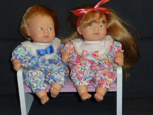 Lot Corolle Mini calin blond frère et soeur banc 40 Rueil-Malmaison (92)