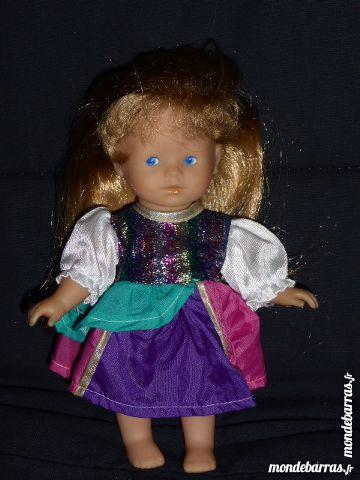 COROLLE poupée mini corolline blonde carnaval Jeux / jouets