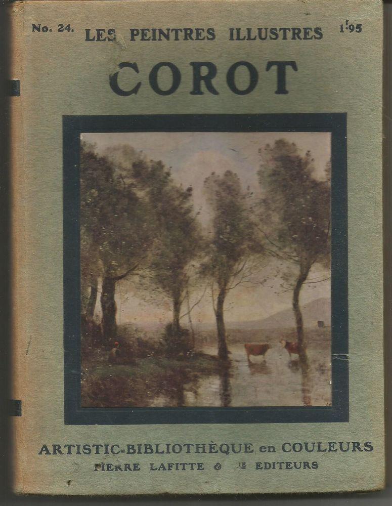 COROT Collection les peintres illustrés Livres et BD