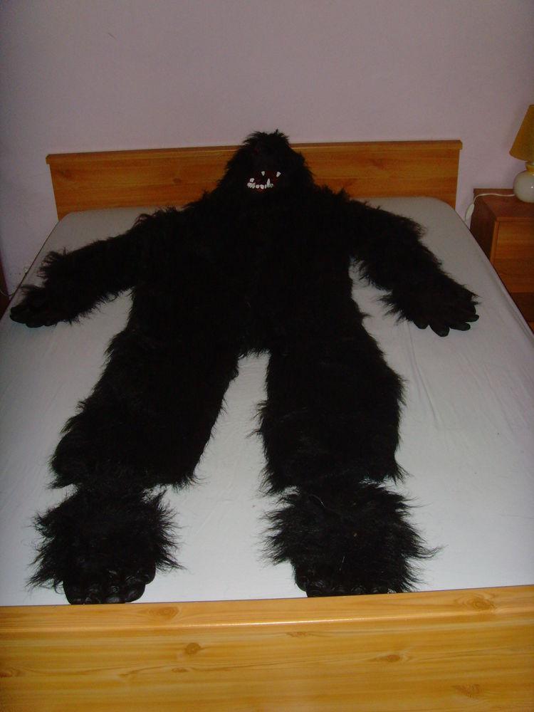 Costume de Gorille. 50 Tournon-sur-Rhône (07)