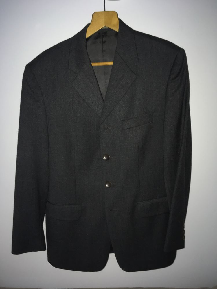 Costume gris perlé Fiorentino demi-saison très belle laine  40 Toulon (83)