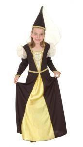 costume Princesse médiévale noir et or 7/9 ans 20 Fontenay-sous-Bois (94)