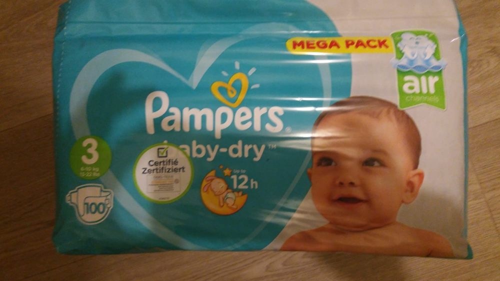 couche pampers baby dry taille 3 paquet de 10 15 Faches-Thumesnil (59)