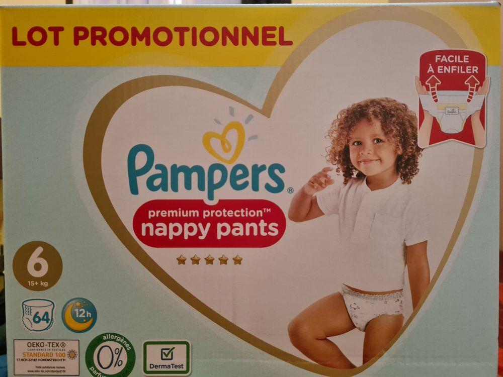 Couches et couches-culottes bébé Pampers T4 T5 15 Nanteuil-le-Haudouin (60)