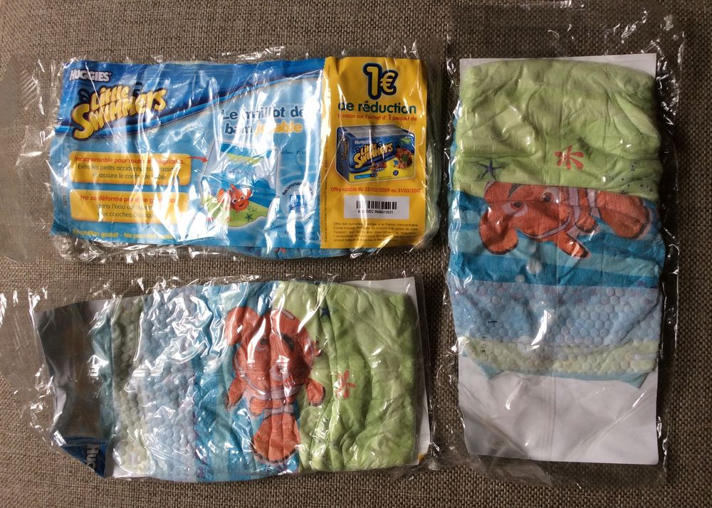 3 couches Little Swimmers Huggies taille XS (3-6 kg) 1 Paris 17 (75)