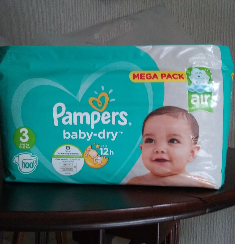 Couches Pampers baby dry - taille 3 16 Angers (49)