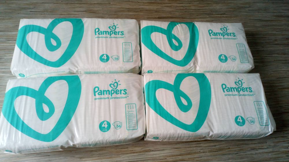 Couches pampers premium protection taille 4  40 Saint-Nazaire (44)