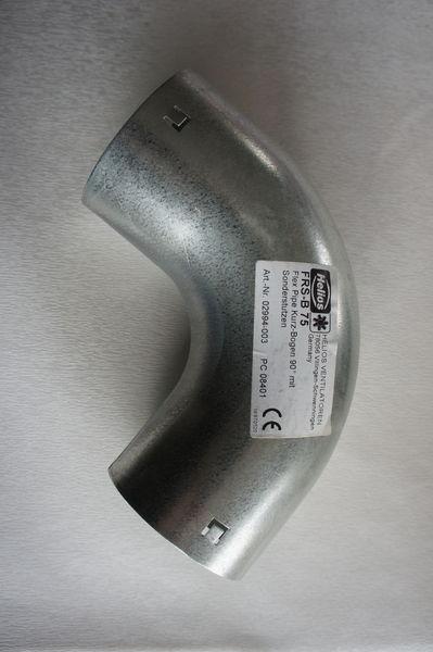 Coudes hélios pour puits canadien FRS B 75  15 Pontcharra (38)