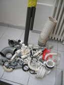 39 coudes raccords PVC neufs+ 5 tuyaux+divers 23 Reims (51)