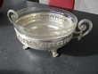 Coupe argenté et coupe cristal Décoration