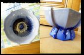 coupe de fruit ou autre tres bon etat ceramique de Lorraine 30 Viriat (01)
