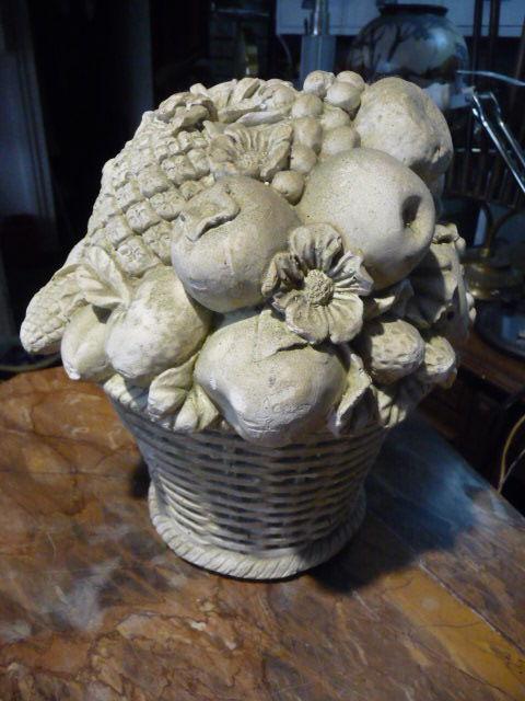 coupe fruit plat coupe à l'antique en plâtre plein 60 Trappes (78)