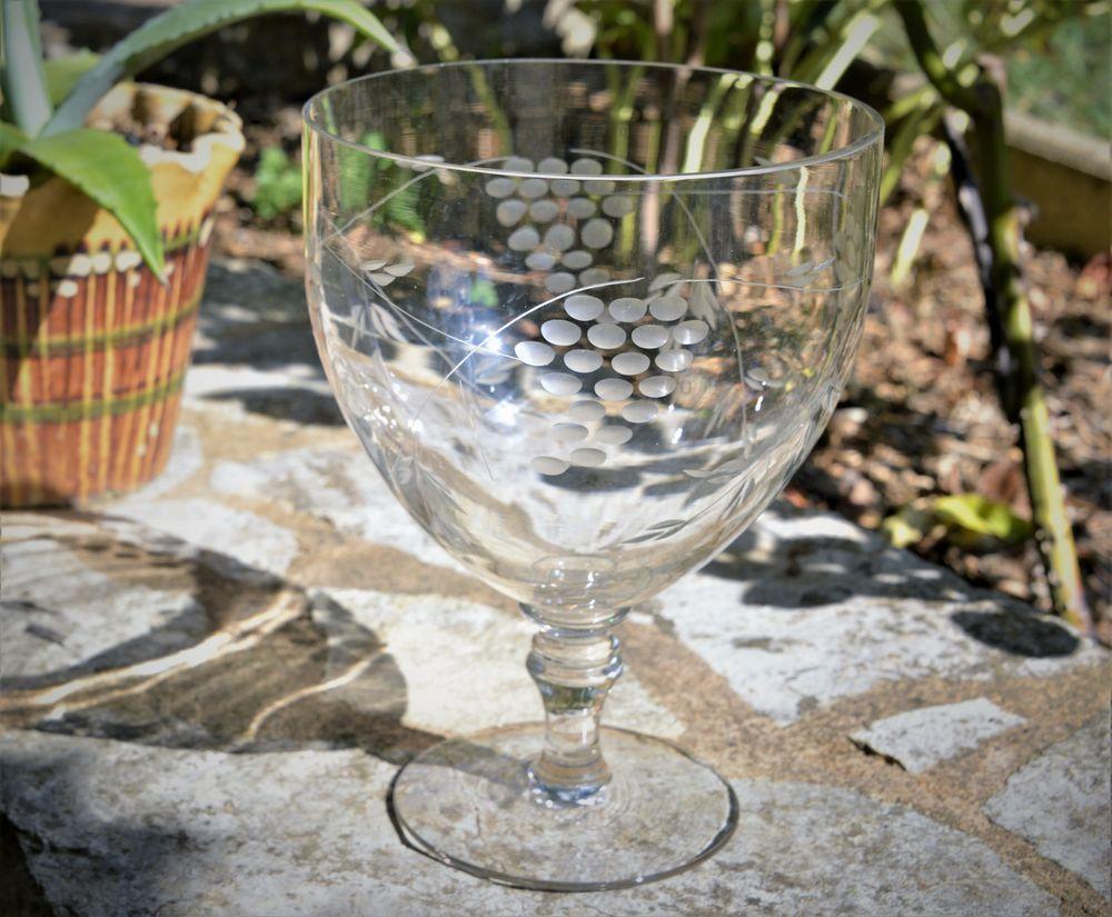Coupe à fruits en cristal 35 Saint-Pompont (24)