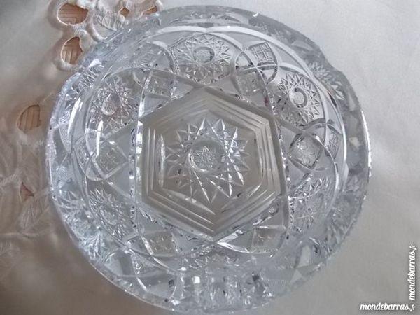 coupelle en cristal Décoration