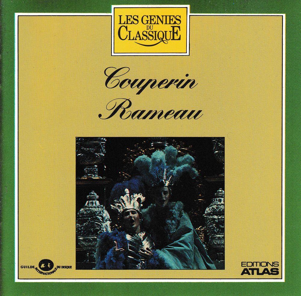 CD  Couperin Rameau  Concerts Royaux, Indes Galantes, Platée 6 Bagnolet (93)