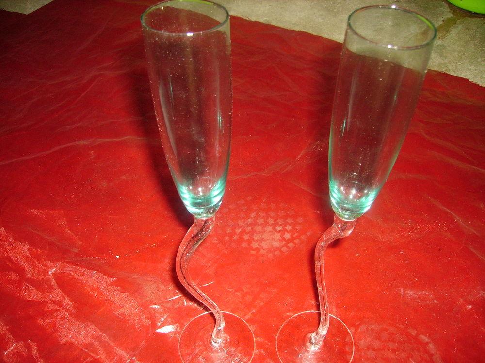 coupes à cocktail et flûtes à champagne 0 Douarnenez (29)