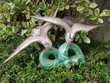 Couple d'oiseaux Céramique BEQUET