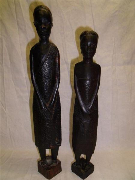 Couple de statuette africaine 40 Cagnes-sur-Mer (06)