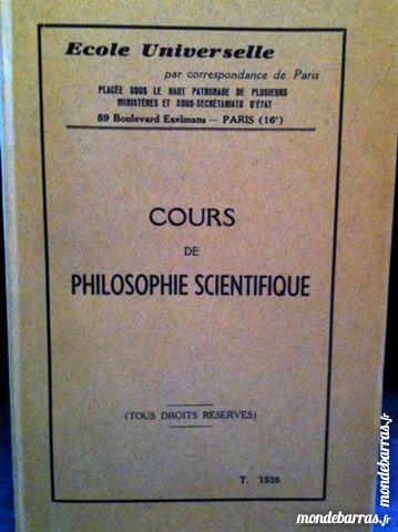 Cours de philosophie scientifique 20 Saint-Vallier (71)