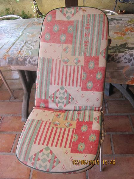 Achetez coussins pour occasion annonce vente frontignan - Coussins pour fauteuils de jardin ...