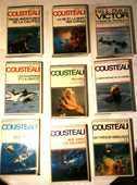 COUSTEAU 1970's (8 OUVRAGES COLLECTOR) 0 Grasse (06)