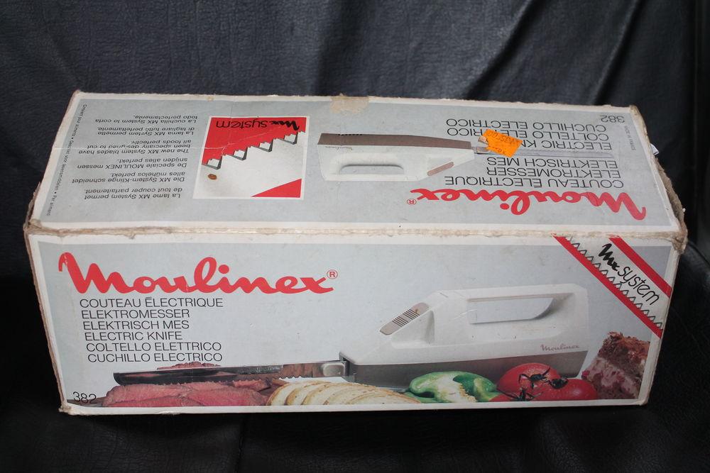 Couteau électique  VINTAGE  Moulinex 10 Caissargues (30)