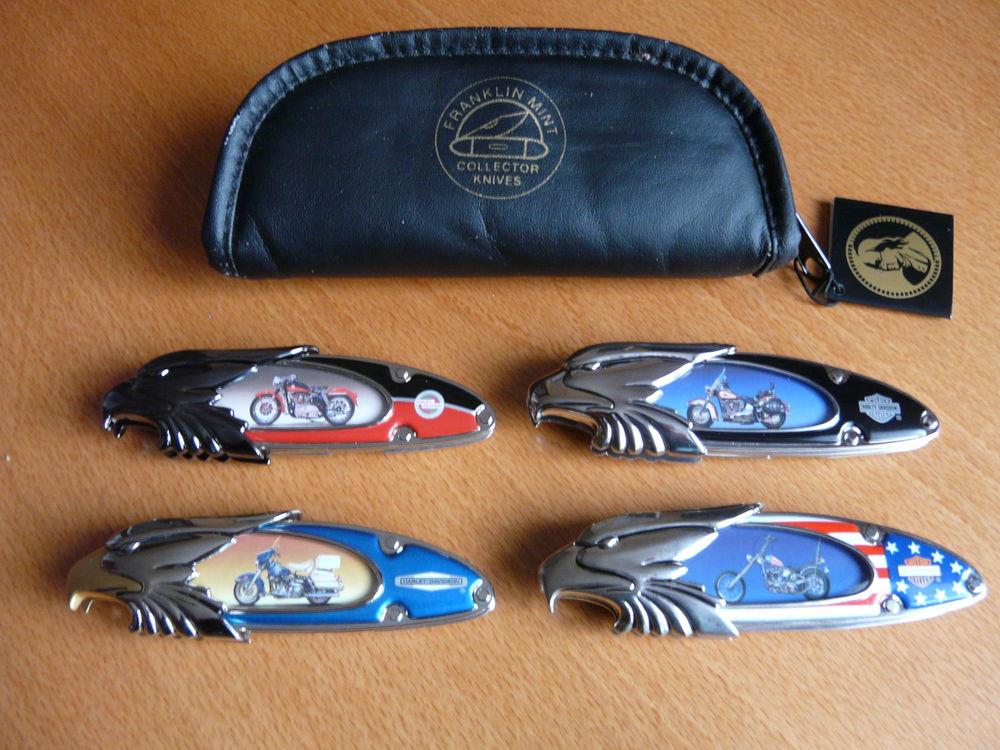 4 couteaux de collection harley davidson 35 Riom (63)