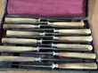 12 et 24 couteaux vintage