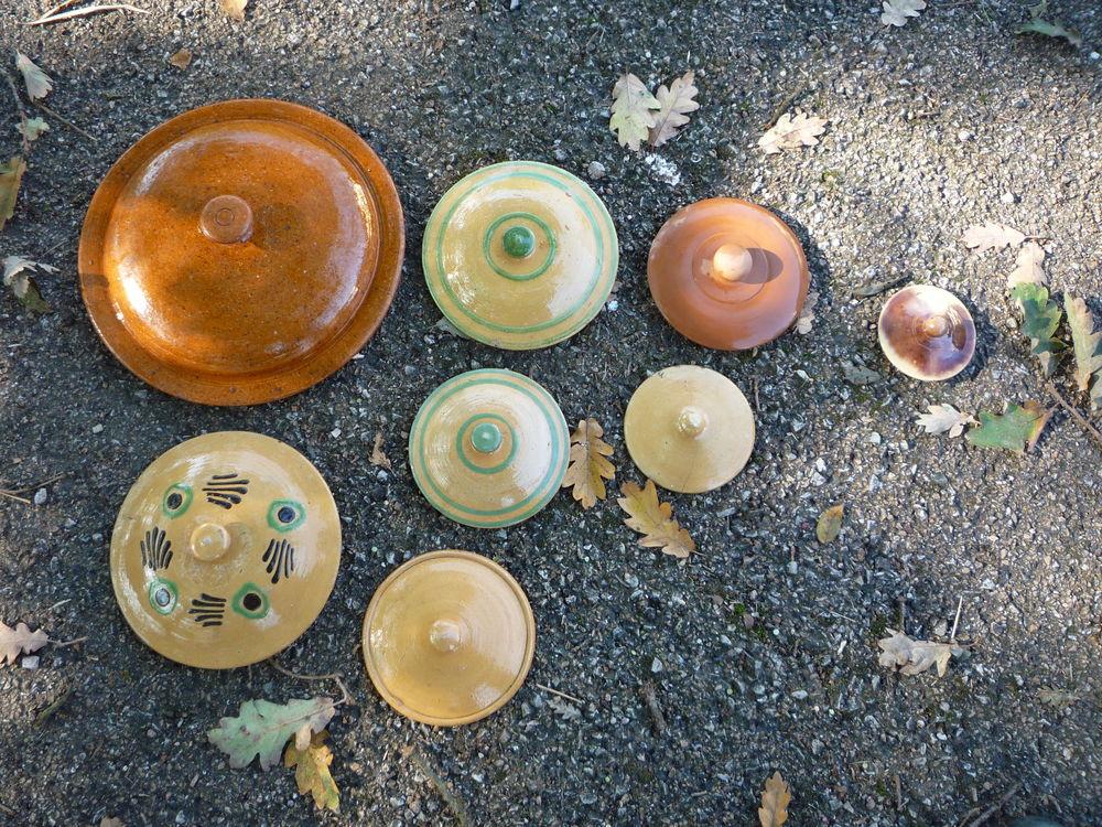 Couvercle faience/poterie Savoie/Alsace 15 Castres (81)