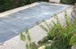 Couverture de piscine à barres Jardin