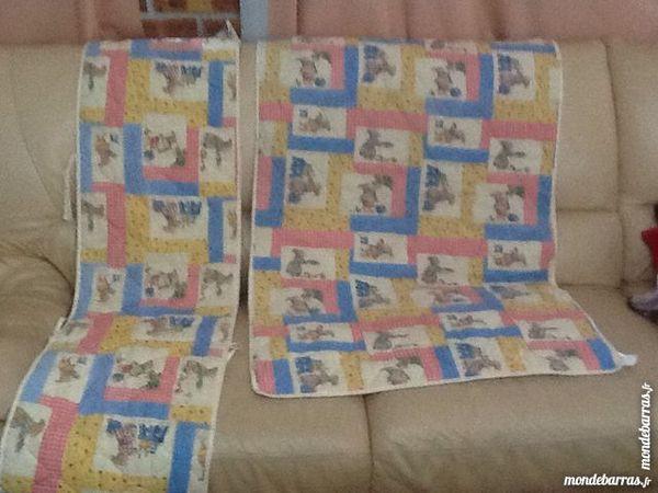 couverture + tour de lit Puériculture