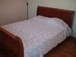 Couvre lit au crochet fait main en coton blanc Décoration