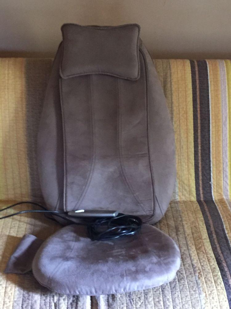Couvre siège de massage Shiatsu Dos avec fonction de chaleur 0 Trans-en-Provence (83)