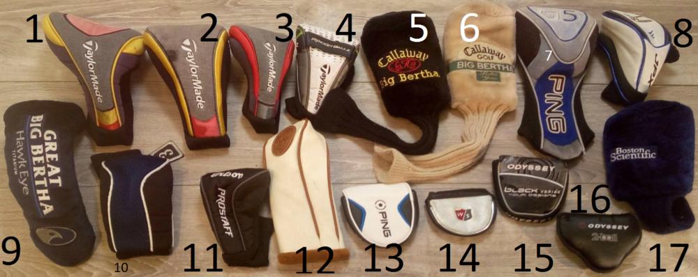 Couvres Drivers, Couvres Bois & Putters de Golf 15 Mantes-la-Jolie (78)