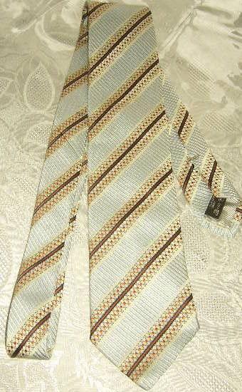 Cravate de style reversible Emenegildo Zegna Twin  15 Versailles (78)