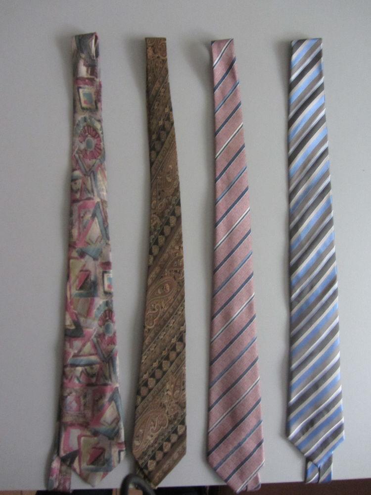 LOT de 4 cravates (dont 2 en soie) 3 Saint-Jean (31)