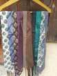 Lot de 20 cravates de grande qualité, certaines en soie.