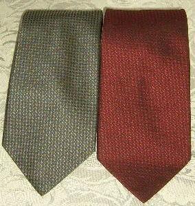 2 cravates 100% polyester CetA 6 Versailles (78)