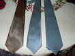 lot de 3 cravattes