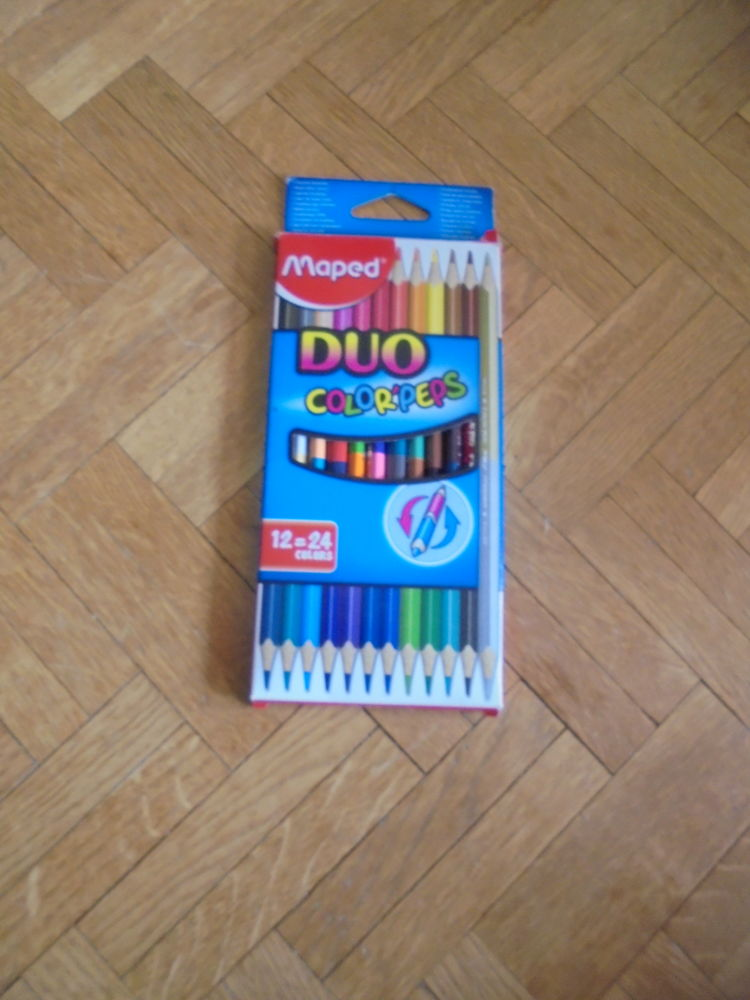 Crayons de couleurs DUO (28C) 3 Tours (37)