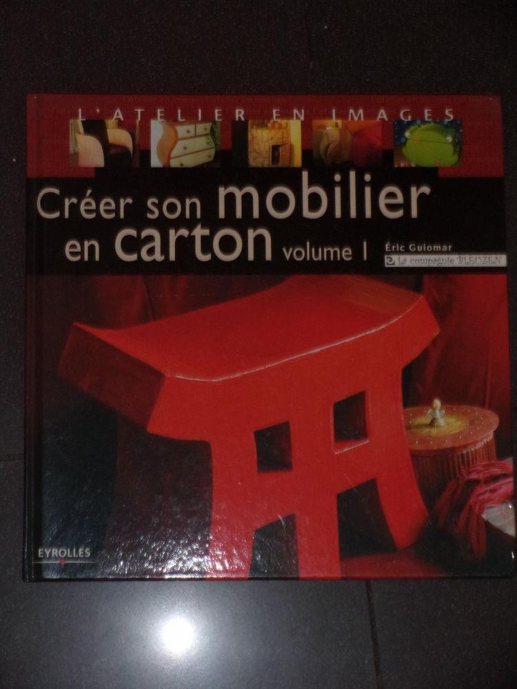 Créer son mobilier en carton livre Matériau de récupération Décoration