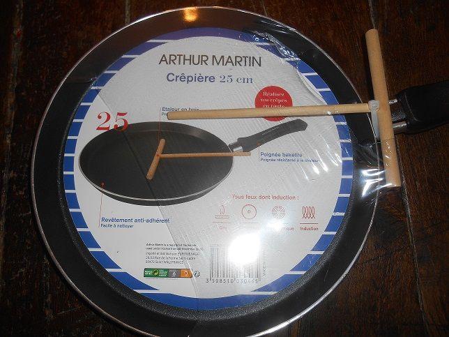 CREPIERE ARTHUR MARTIN NEUF 10 Saint-Denis-en-Val (45)