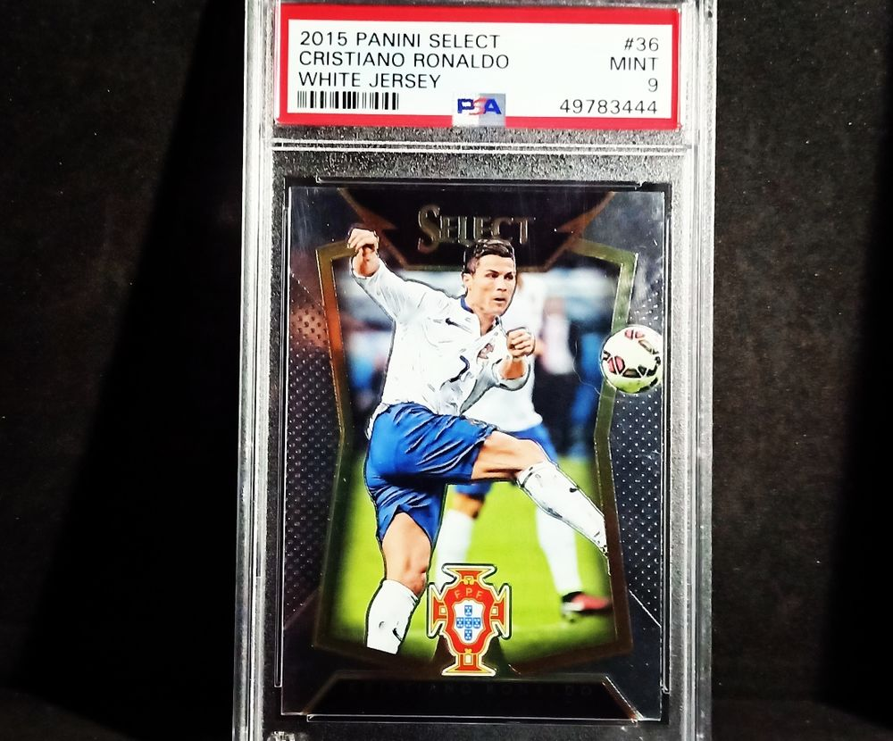 cristiano Ronaldo panini select PSA carte NBA mint 112 Séez (73)