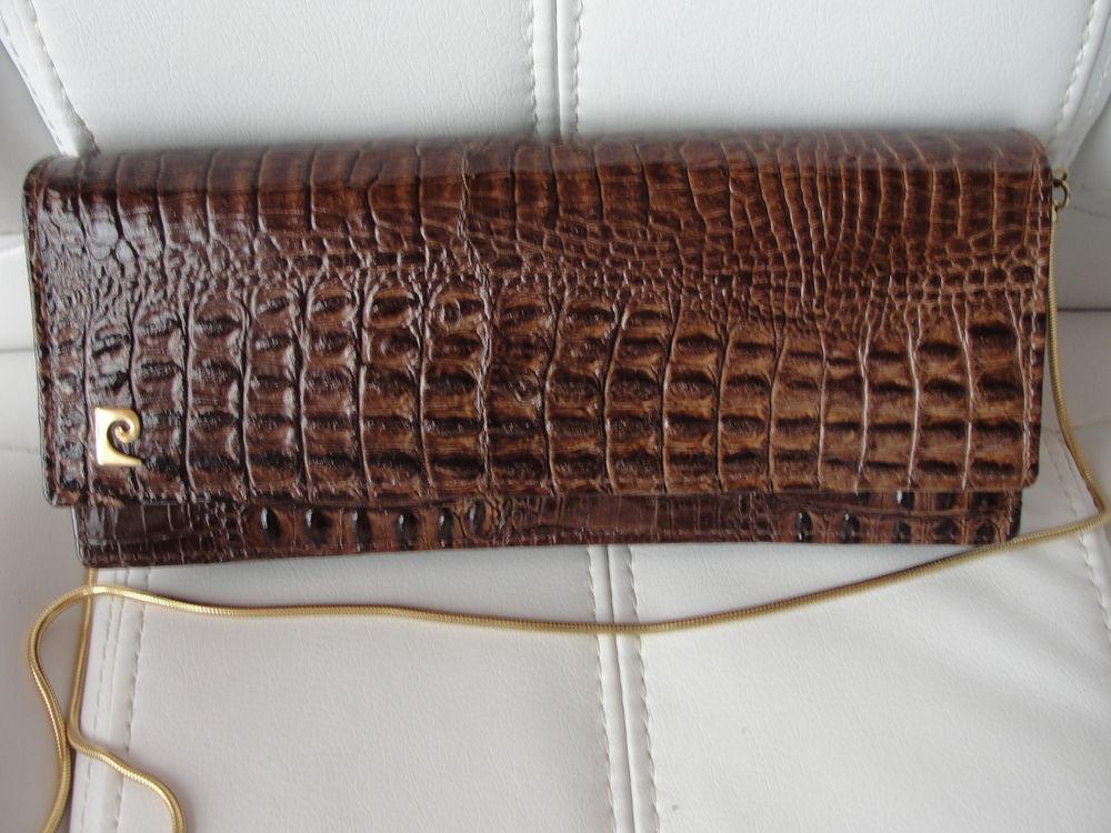 sac croco vintage PIERRE CARDIN    150 Six-Fours-les-Plages (83)