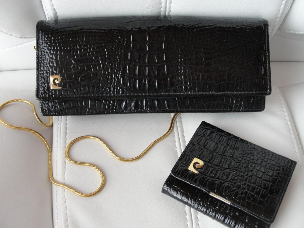 sac crocro vintage PIERRE CARDIN  + porte monnaie assorti 210 Six-Fours-les-Plages (83)